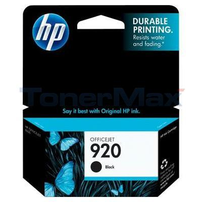 HP NO 920 INK BLACK 
